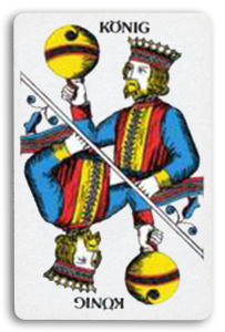 Swiss-Suited Playing Cards - Schellen - Bells 2