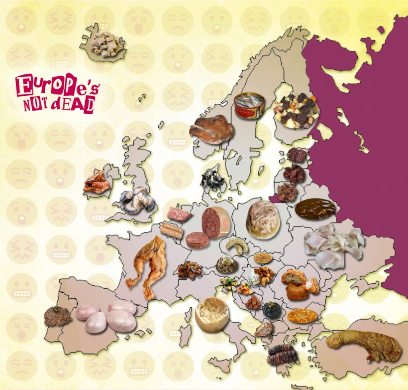 European Culinary horror