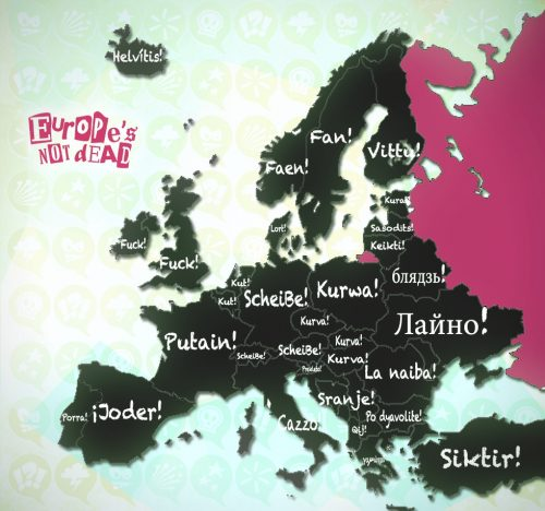 European Swear Words VF