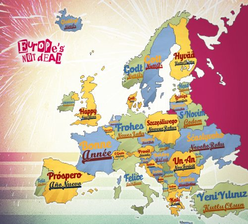 European New Year Traditions