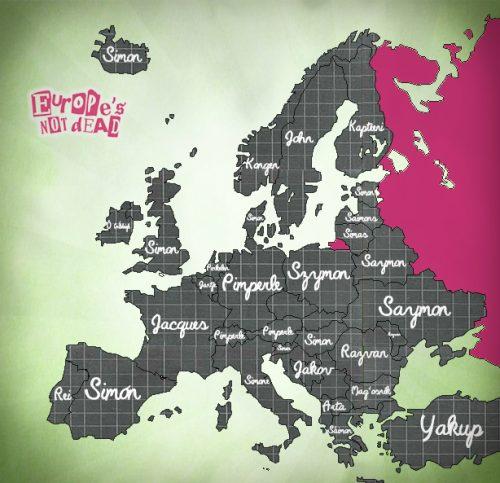 European Simon Says
