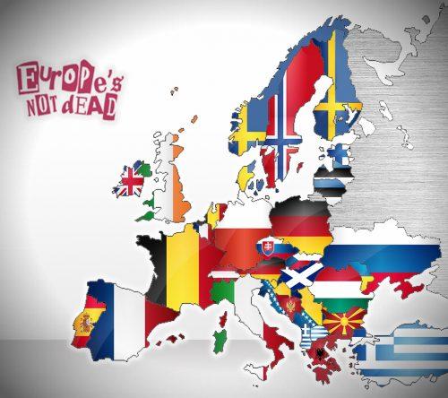 Map - European Jokes