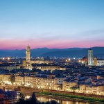Sight view of Florence, Italy