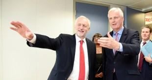 Corbyn, Barnier