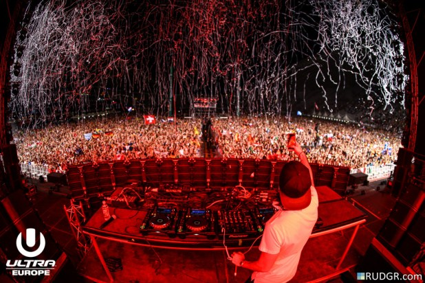 Alesso @ Ultra Europe 2015