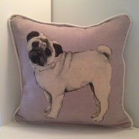 Pug Cushion with Pad