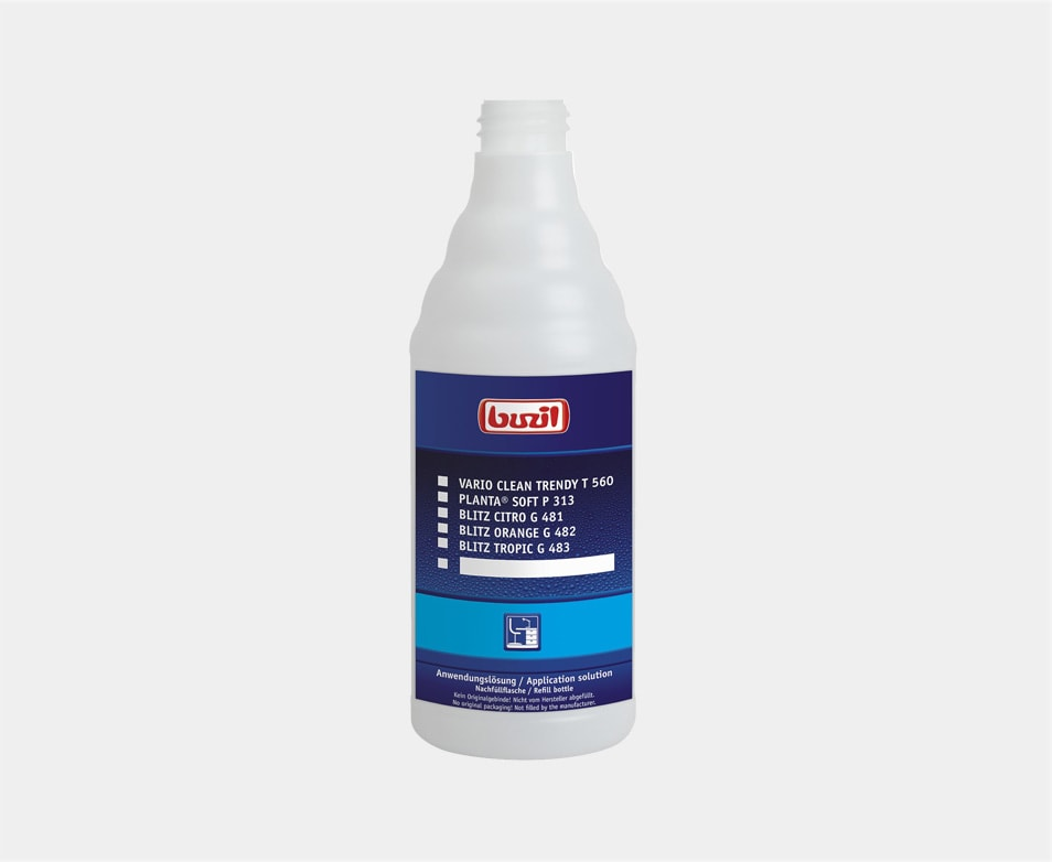 BUZIL SPRAY BOCA 600ML BIJELO-PLAVA