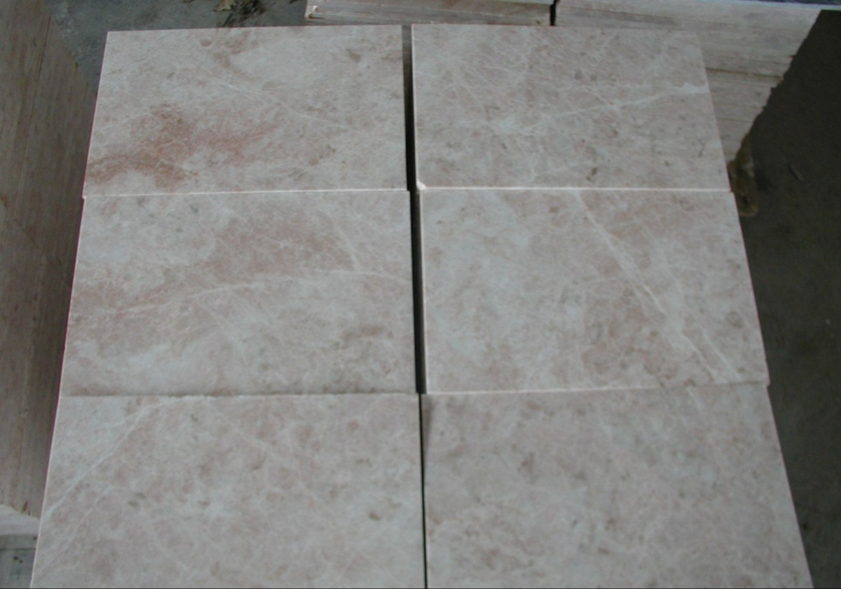 Desert Pink Marble Tiles Eurostone Houston