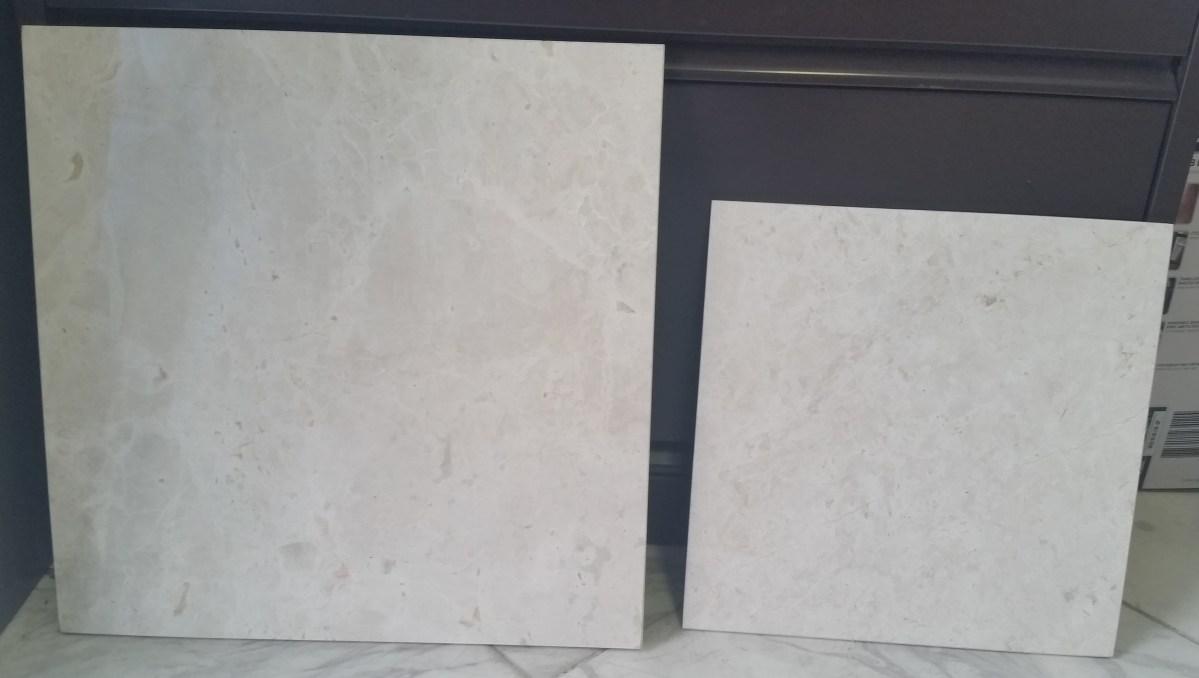French Vanilla Marble Tiles Eurostone Houston