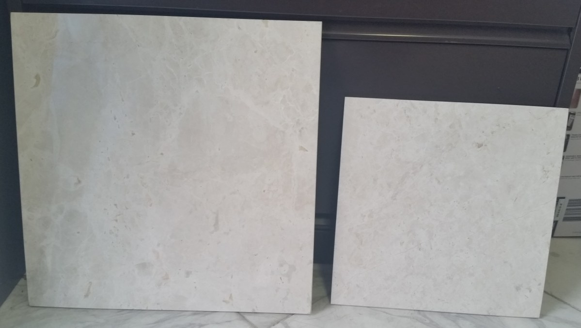 French Vanilla Marble Tiles Eurostone Houston