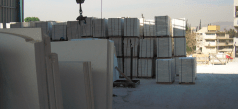Thassos White Marble Factory in Greece