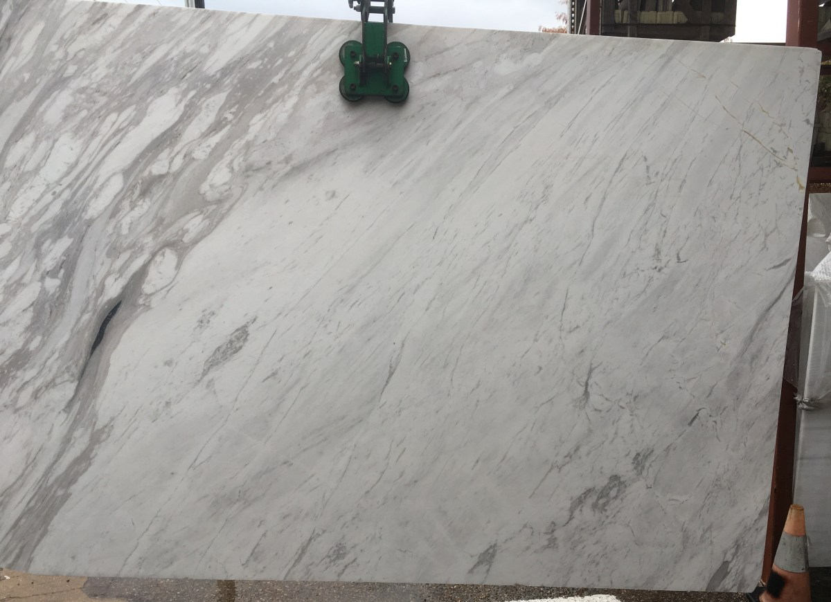 Olympus White Marble Slab Eurostone Houston