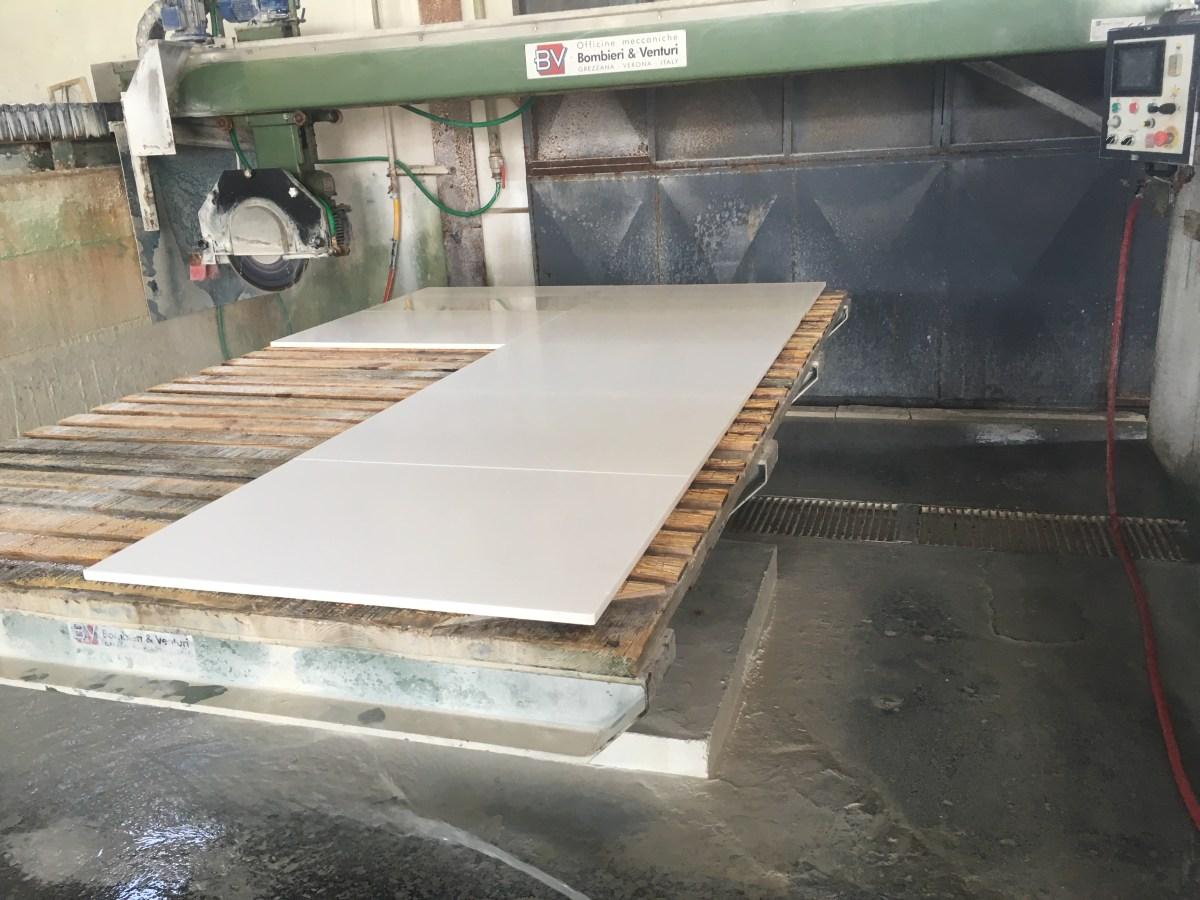 Thassos White Natural Marble Tiles cut-to-size Greece Eurostone Houston