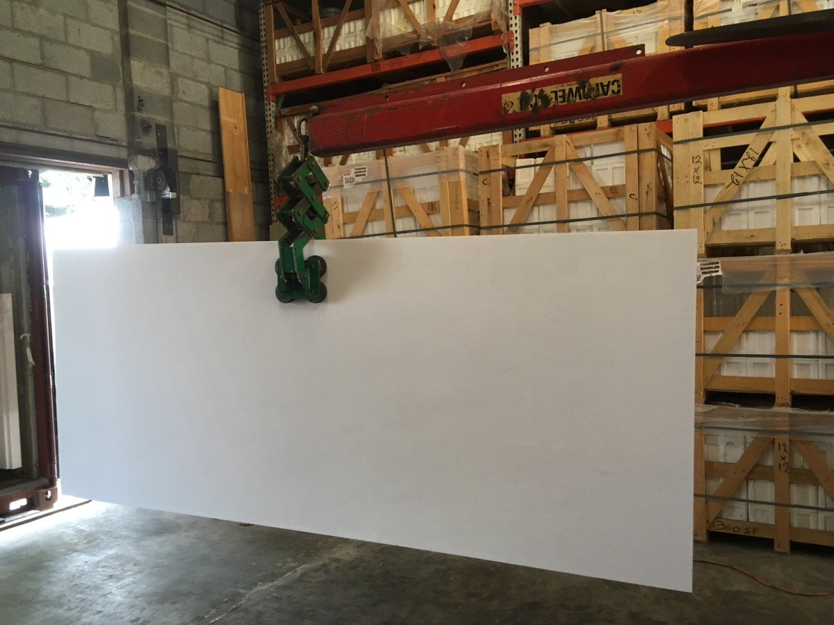 Thassos White Natural Greek Marble large slab Houston Eurostone