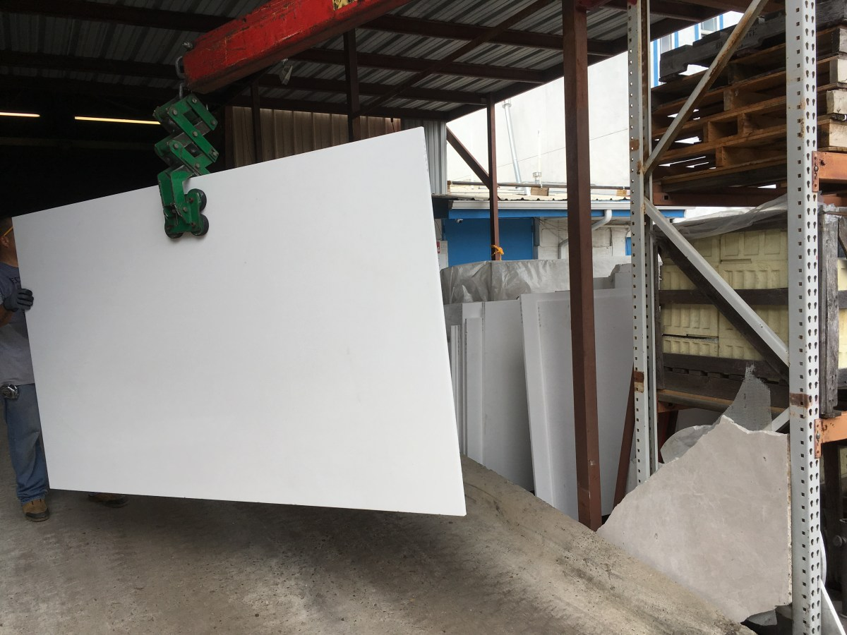 Thassos White Natural Greek Marble Slab Eurostone Houston warehouse