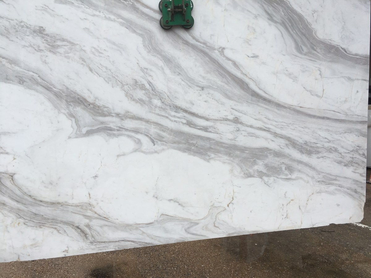 Volakas White natural Greek marble slab Eurostone marble bookmatch