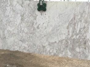 Arabesque White Natural Marble Slab Greek Eurostone Houston
