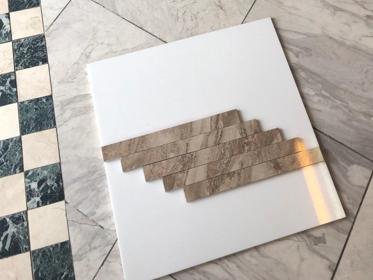 Karnez Natural Marble Mosaic Tiles Eurostone Houston
