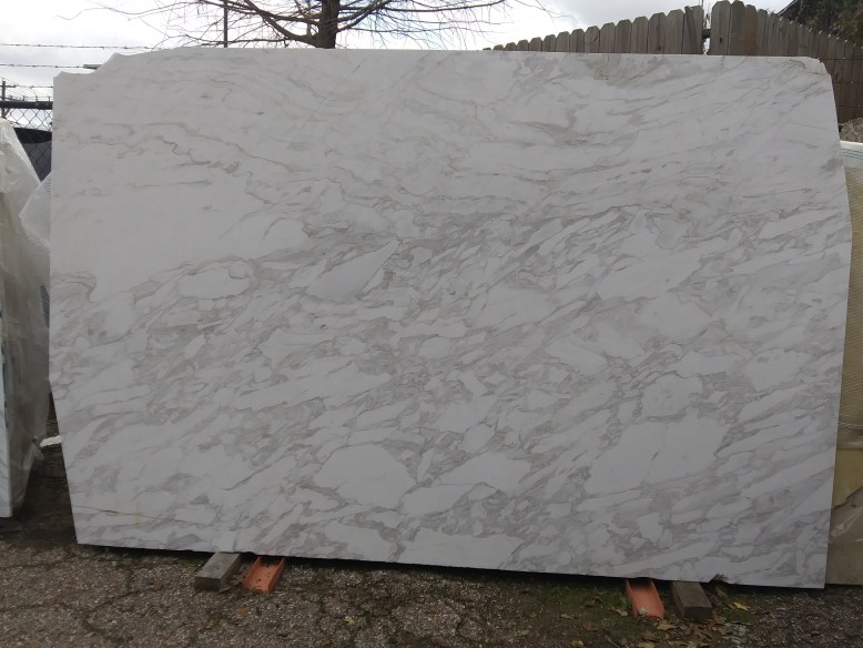 Arabescato Natural Marble Slab Eurostone Houston