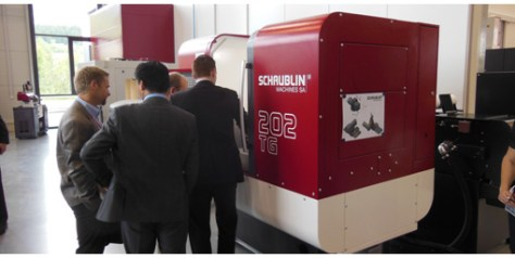 The new 202 TG was a great hit on the event and sales should follow rapidly. Next occasion to see the machine: EMO.