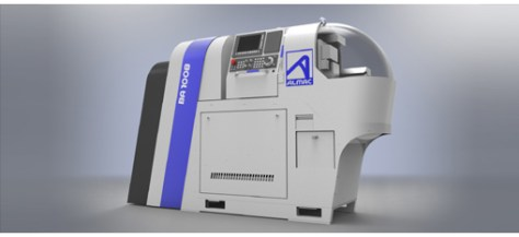 The BA1008 milling machine manufactured by Almac, based on a SwissNano machine, is designed to machine complex parts requiring multiple milling operations. To be discovered on booth B04 in Hall 17 at EMO.
