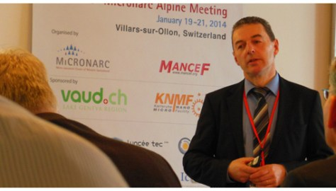 A huge step towards the submicron presented by Denis Jeannerat Director of Technology, Willemin-Macodel.