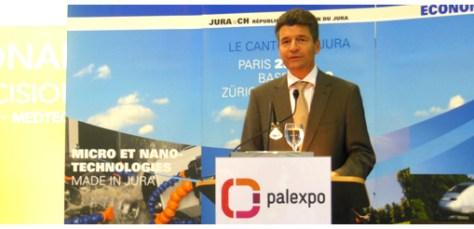Claude Membrez, Managing Director of Geneva Palexpo.
