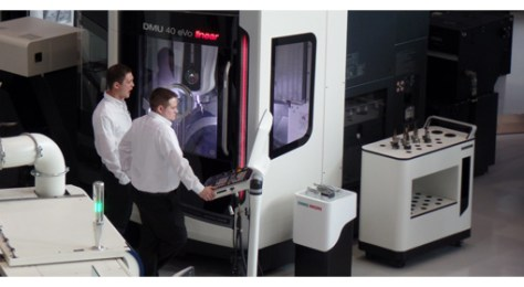 in the new DMG MORI design and equipped with CELOS®. CELOS® simplifies and accelerates the process from the idea to the finished product