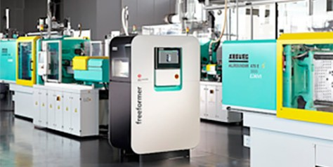 With the Freeformer for additive manufacturing and Allrounder injection moulding machines, Arburg covers the entire industrial production spectrum.
