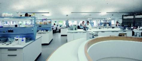 Schweiz / Hasle-Ruegsau Neue Laborräumlichkeiten. © Meinrad Schade / Blaser Swisslube AG