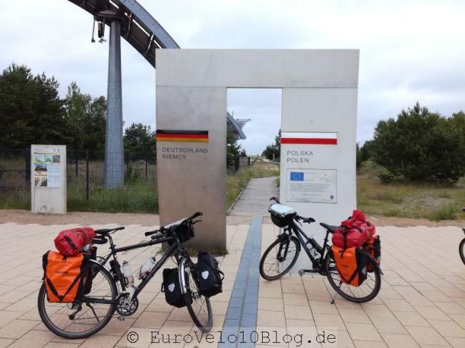 Deutsch-Polnische-Grenze: ganz schön unspektakulär