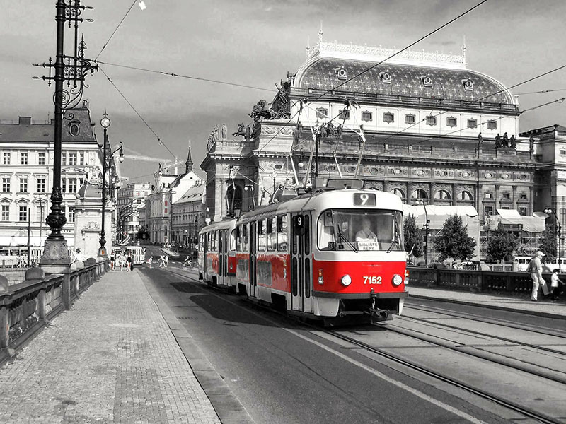 Tranvía de Praga