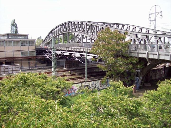 Bösebrücke Bridge in Berlin