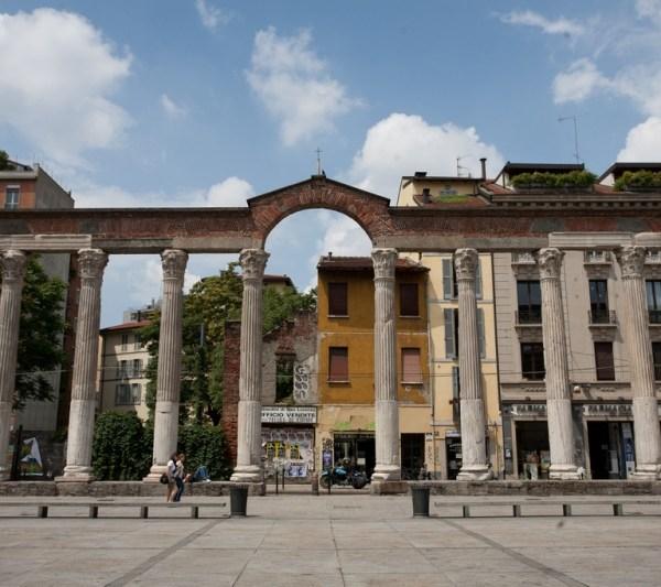 Columnas de San Lorenzo en Milán