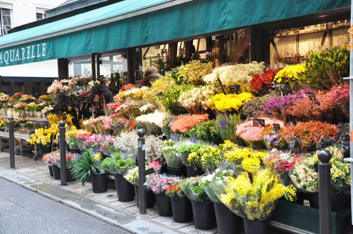 Floristeria en París