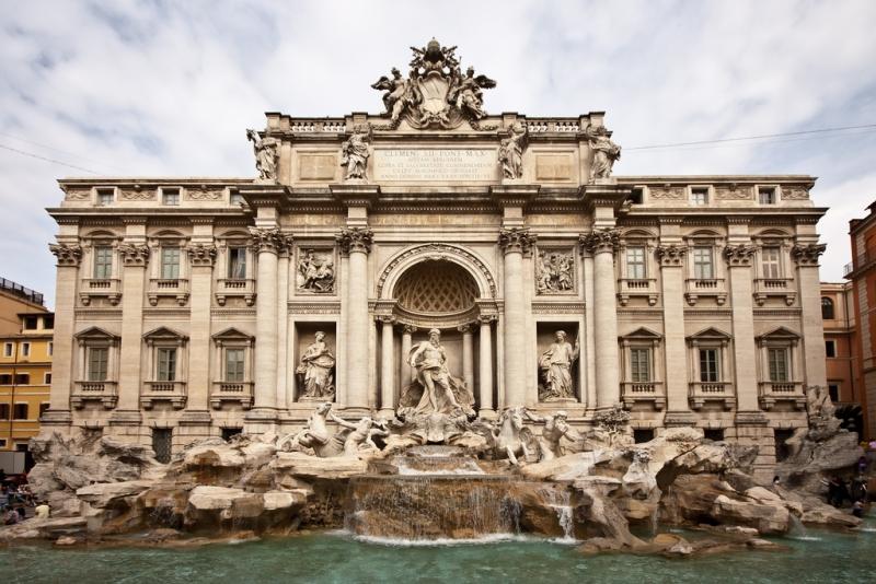 Fuente Trevi en Roma