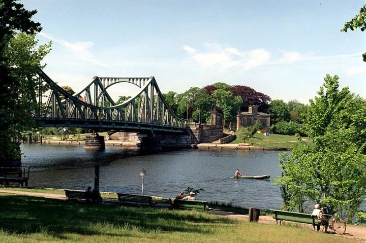 Glienicker Brücke Bridge in Berlin