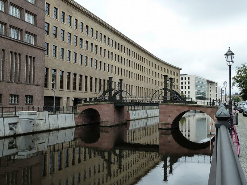 Jungfernbrücke Bridge in Berlin