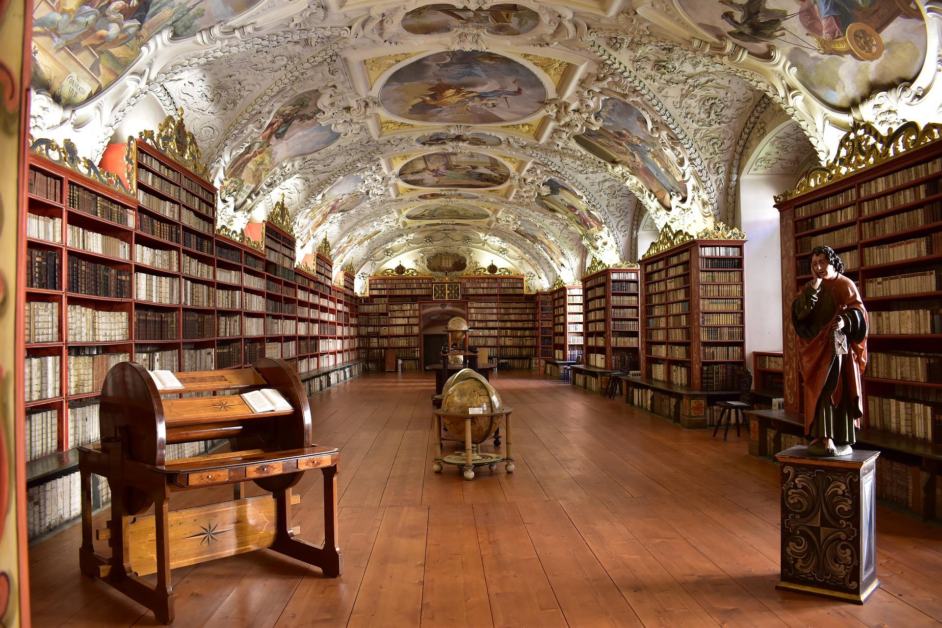 Klementinum, Biblioteca Barroca en Praga