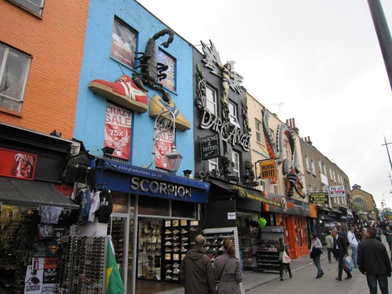 Mercadillo Camden Town de Londres