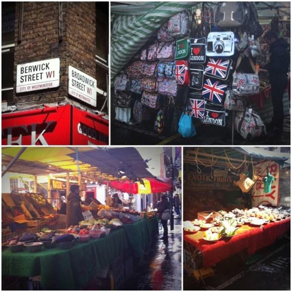 Mercadillo de Berwick Street de Londres