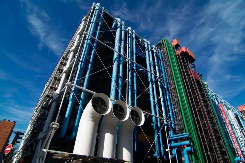 Museo de Arte Moderno, Centro Pompidou en París