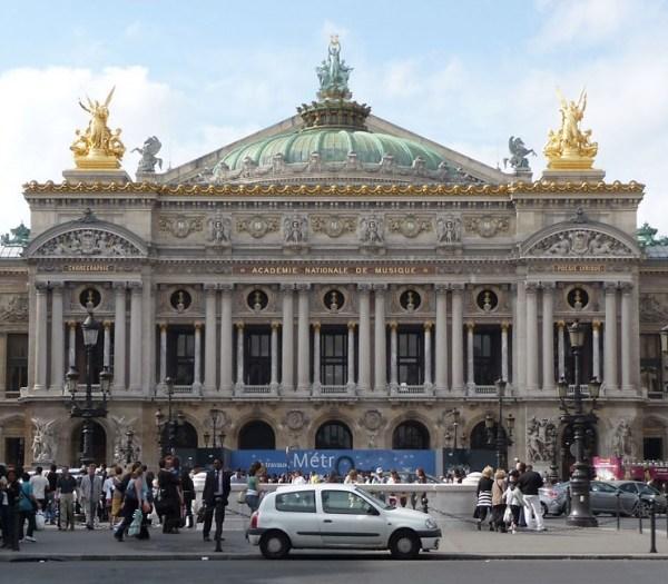 Palacio de la Ópera Garnier de París