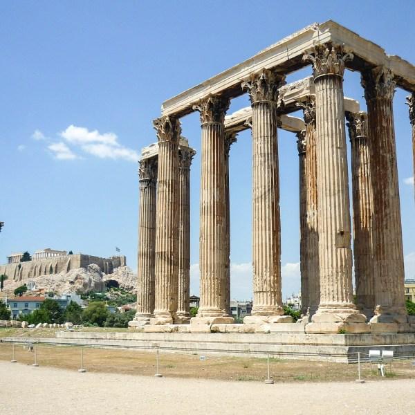 Templo Zeus en Atenas