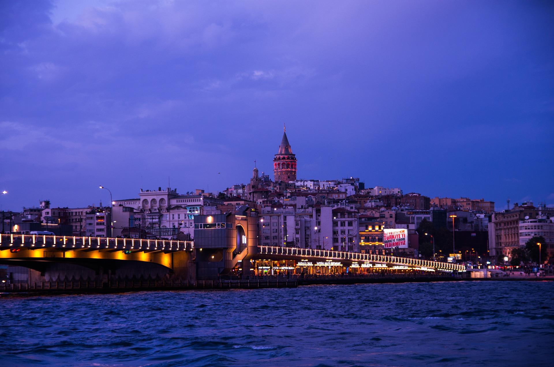 Puente Gálata en Estambul