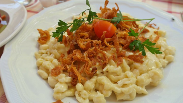 Käsespätzle - typical Austrian food