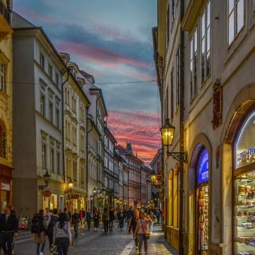 Compras en Praga