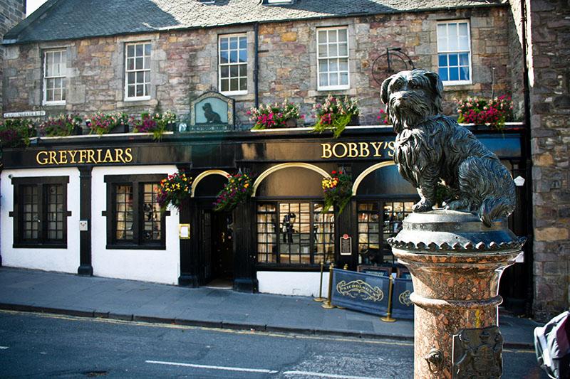 Estatua greyfriars bobby