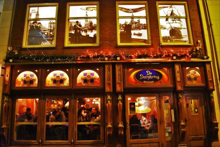 Coffeeshop en Ámsterdam
