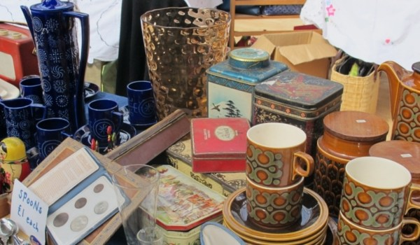 Mercadillo de Antigüedades Flea Market de Edimburgo